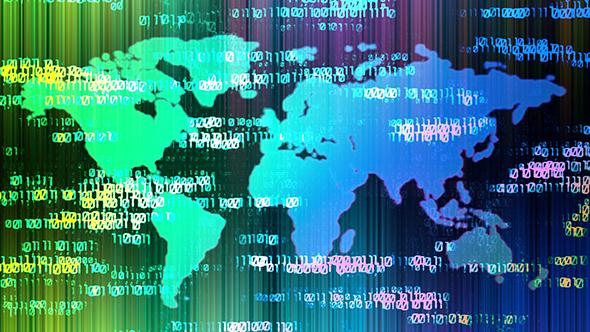Digital World Map By Aslik Videohive