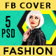 Fashion  Facebook Covers - 5 Designs