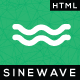 Sinewave - One Page Hosting Landing Page HTML Template Nulled
