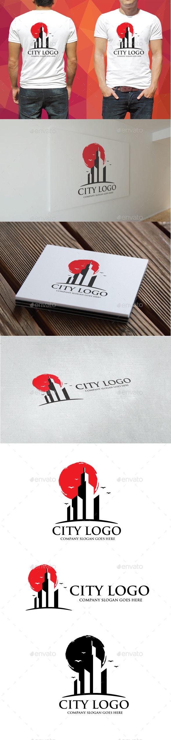 GraphicRiver City Logo 20226000