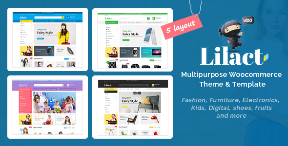 Lilac - Fashion Responsive WooCommerce WordPress Theme