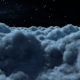 Fly Above The Night Clouds - VideoHive Item for Sale