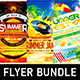 Summer Vacation Flyer Bundle vol.4