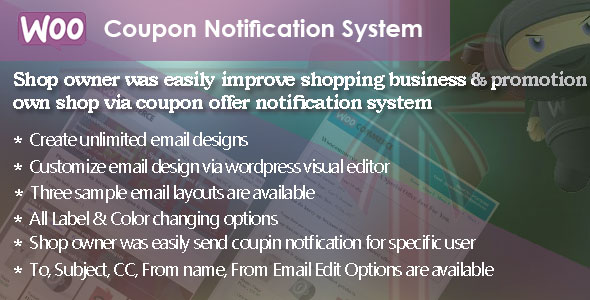 WC | Coupon Notification System (WooCommerce) images