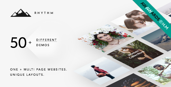 Rhythm | Responsive WordPress Multi-Purpose Theme - Creative WordPress