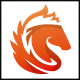 Fire Horse Logo - GraphicRiver Item for Sale