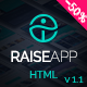 RaiseApp - UI Kit & Website Template - ThemeForest Item for Sale