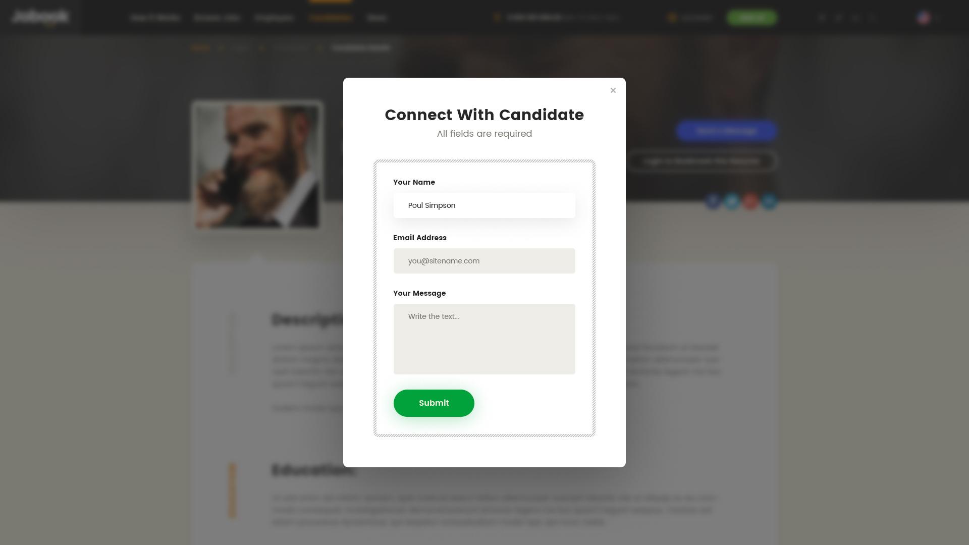 Jobook - A Unique Job Board Website PSD Template by themefire ...