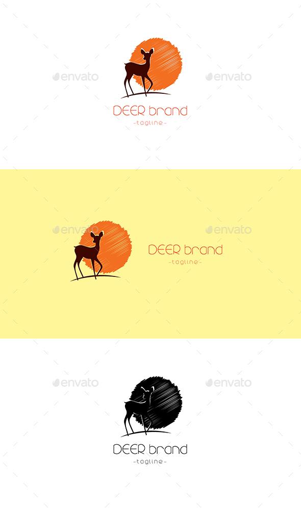 GraphicRiver Deer Logo 20233144