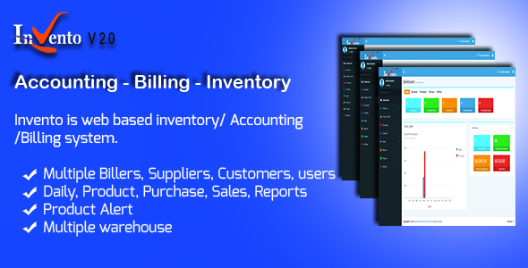 Invento – Accounting | Billing | Inventory Management System (Miscellaneous) images