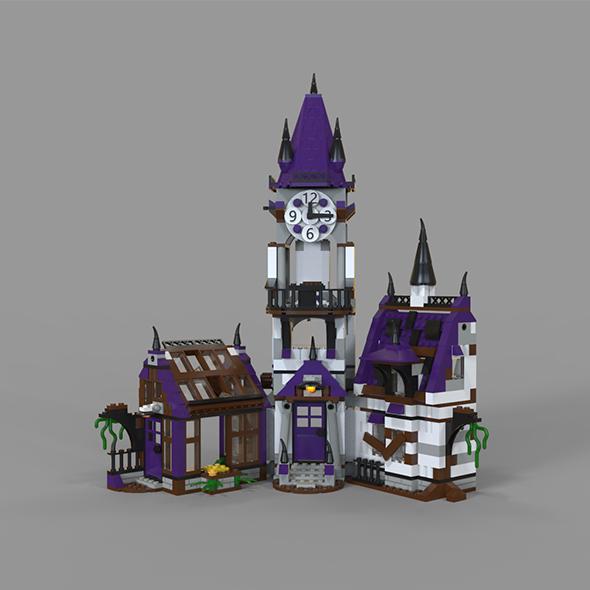 3DOcean Lego house fantasy 20233184
