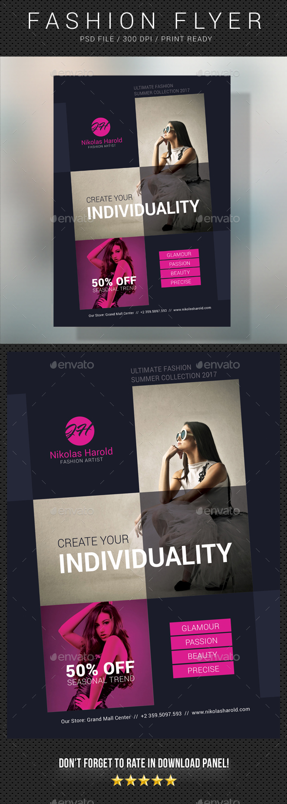Fashion Flyer 07 - Commerce Flyers