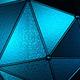 Dark Lit Polygonal Surface 2