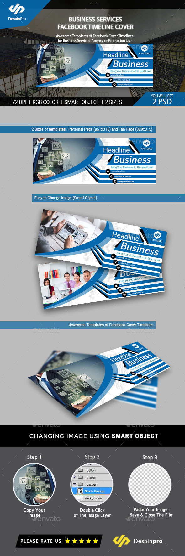 Business Services FB Cover Timeline - AR - Facebook Timeline Covers Social Media