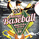 Baseball Nights Flyer - Baseball Tournament Poster Template