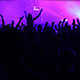 Crowd Applauding And Shaking Hands Up In Concert - VideoHive Item for Sale