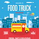 Food Truck Flyer - GraphicRiver Item for Sale