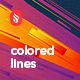 Abstract Multicolored Flat Layered Lines Backgrounds - GraphicRiver Item for Sale