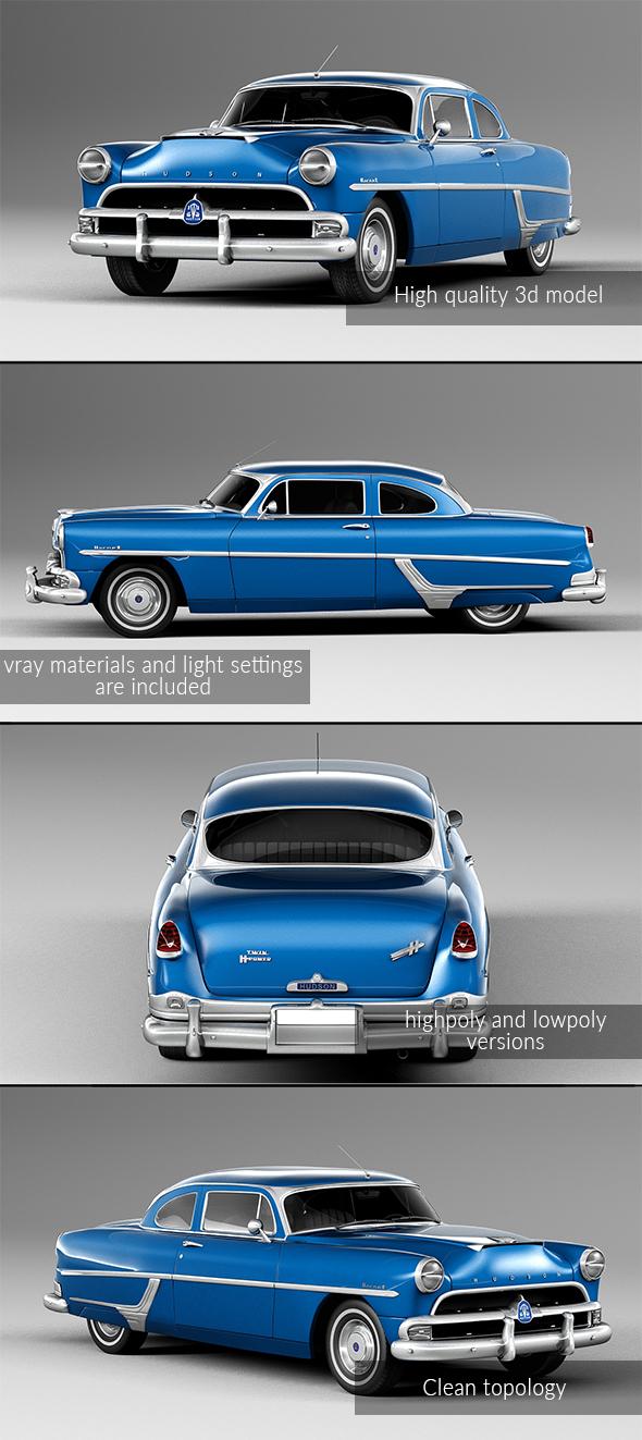 3DOcean Hudson Hornet 1954 20234131