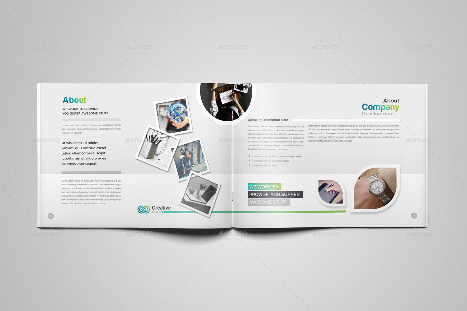 Bundle Company Profile Template by generousart | GraphicRiver