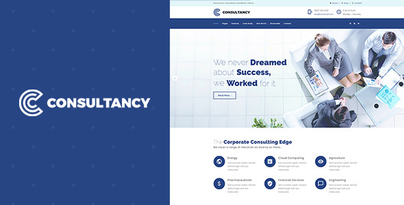 Image of Consultancy | Business Consulting, Finance ConsultingTheme