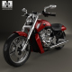 Harley-Davidson V-Rod Muscle 2010 - 3DOcean Item for Sale