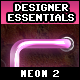 Designer Essentials Neon Vol.2 - GraphicRiver Item for Sale