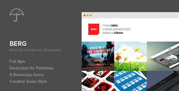 Berg - WordPress Portfolio Theme - Portfolio Creative