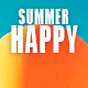 Happy Summer Upbeat Whistle Logo