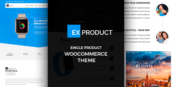 Download ExProduct - Single Product theme