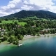 Aerial Drone Footage - Flying Over a Lake in Germany - VideoHive Item for Sale