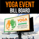 Yoga Bill Board - GraphicRiver Item for Sale