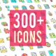 Icons Pack 300 Animated Icons