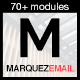 Marquez - Multipurpose Responsive Email: 70+ Sections + StampReady Builder + MailChimp Integration - ThemeForest Item for Sale