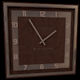 Square wall clock - 3DOcean Item for Sale