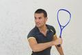 handsome man tennis player