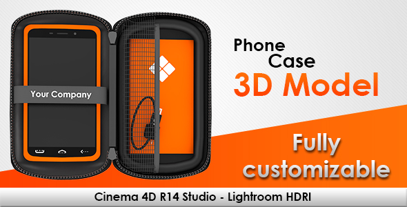 Phone Case for Cinema 4D - 3DOcean Item for Sale