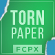 Torn Paper Transitions - FCPX