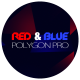 Red And Blue Polygon Pro - VideoHive Item for Sale