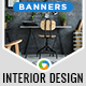 Interior Design banners