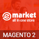 E-market - Stunning and Responsive Magento 2.1 Theme Nulled