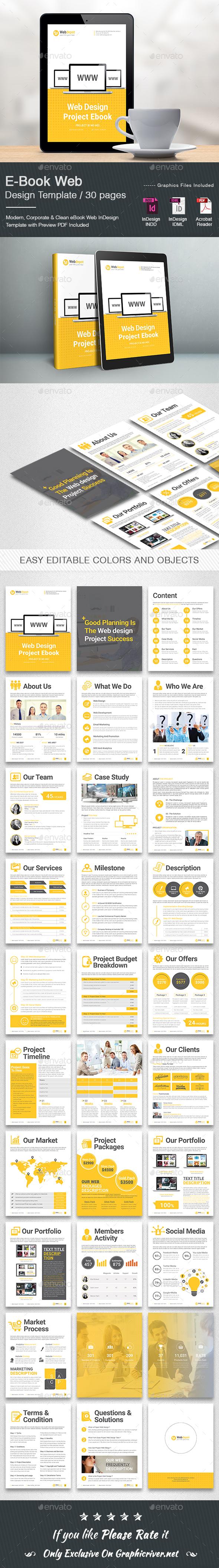 E-Book Web Design - Digital Magazines ePublishing