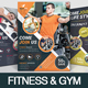 Fitness & Gym Flyer - GraphicRiver Item for Sale