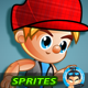 2D Game Character Sprites - GraphicRiver Item for Sale