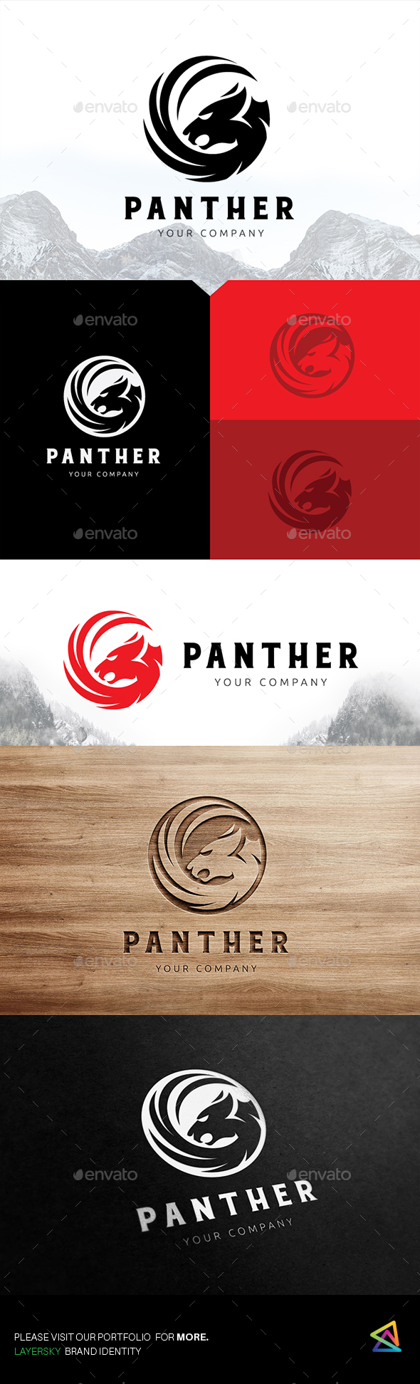 Panter Logo - Animals Logo Templates