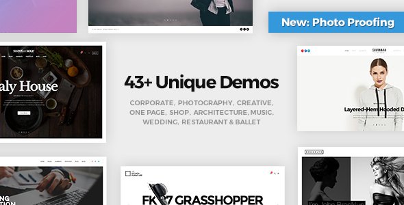 30+ Most Creative WordPress Themes for Artists 2019 8