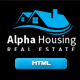 Alpha Housing - Real Estate Multipurpose Template Nulled