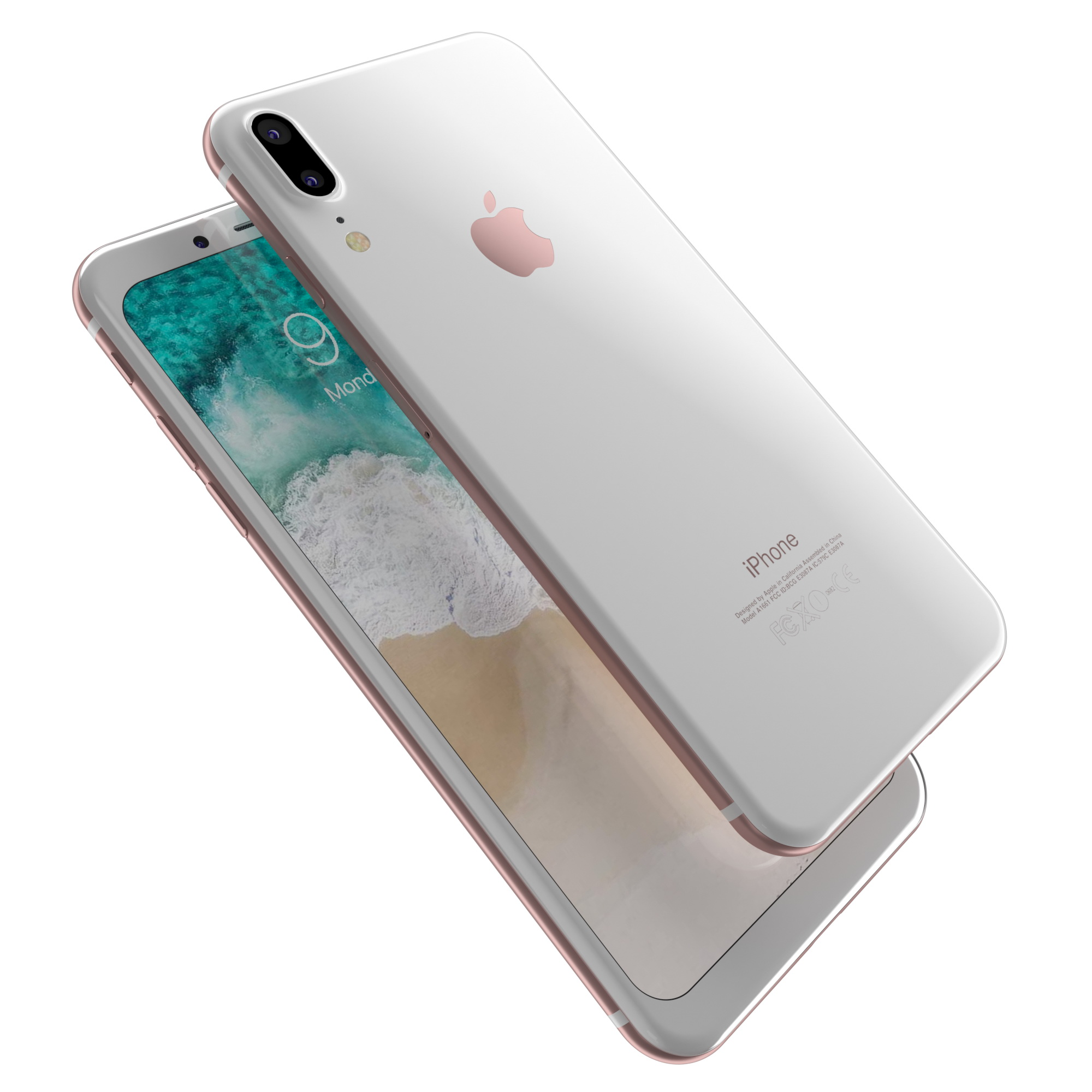 Apple iPhone8 2017 Rounded edges Leak All Colors by obshansky ...