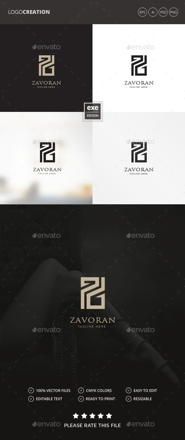 Letter Z Logo - Letters Logo Templates