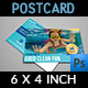 Swimming Pool Cleaning Service Postcard Template - GraphicRiver Item for Sale
